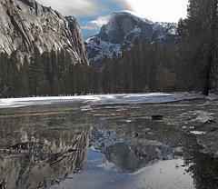 A Few Clouds Moving In (DocNordic) Tags: yosemite yosemitenationalpark nationalpark california sierranevada mountain valley yosemitevalley johnmuir worldheritagesite granitecliffswaterfalls sequoias lakes biologicaldiversity