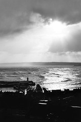 window view (#christopher#) Tags: landscape seascape ocean sea northsea scarborough harbour sky clouds
