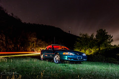 20170427-_MG_0624 Mustang under the stars (susi luard 2012) Tags: hcc mustang northcarolina beds car emerald nightsky overlook pink stars trail