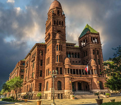 Bexar County Courthouse (Jims_photos) Tags: sanantonio texas bexascountycourthouse outdoor outside oldmemories adobelightroom adobephotoshop shadows sunnyday daytime downtown jimallen jimsphotos jimsphotoswimberleytexas k lightroom cloudy clouds vintage nikond750 memories sanantoniohistoricaldistrict arctitectual architecture architectour