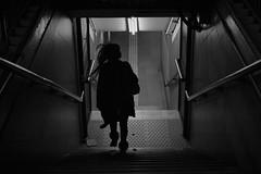 (Claudio Blanc) Tags: street streetphotography fotografiacallejera fotografianocturna buenosaires bw bn blackandwhite blancoynegro night silueta silhouette silhoutte subway subte underground argentina