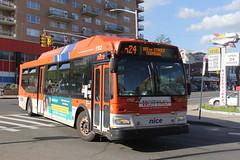 IMG_8316 (GojiMet86) Tags: nice nassau inter county express nyc new york city bus buses 2009 orion vii ng cng lf 1702 n24 merrick blvd hillside avenue