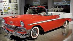 1956 Chevrolet Bel Air Convertible - top down (Pat Durkin OC) Tags: 1956chevrolet belair convertible whitewalltires matadorred indiaivory thepetersen