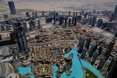 ✪世界一高い828mのビル『バージュ・カリファ』からの眺め -UAE ドバイ- (m-miki) Tags: nikon d610 uae アラブ首長国連邦 アラブ バージュ・カリファ 世界一 建物 夜景 ドバイ united arab emirates birge califa best world building night view dubai 箱庭 都市 景観 砂漠