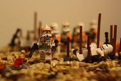 Lego Massacre on Sarrish | The Clone Wars (h2brick) Tags: lego legostarwars legovehicle ll clone clonewars battle star starwars starwarstheclonewars side ship wars w obiwan commander campaign cody commandercody