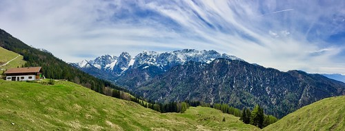 Alpenpanorama - Panoramic view of The Alps