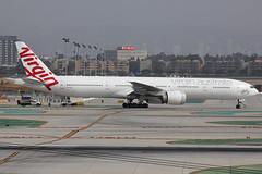 "VH-VOZ | Boeing 777-3ZGER | Virgin Australia ""Palm Beach"" (cv880m) Tags: california losangeles lax klax aviation airliner aircraft jetliner airplane vhvoz boeing 777 773 777300 virgin virginaustralia palmbeach triple7 tripleseven 7773zg"