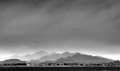 you never look at the same mountain twice (BCooner) Tags: blackandwhite sierraestrella desertmountains clouds goodyearaz arizona