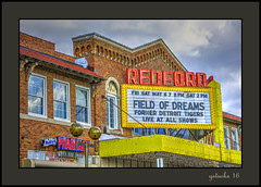 Field of Dreams (the Gallopping Geezer '4.8' million + views....) Tags: redfordtheater moviehouse movie movies cinema historic old marquee nowplaying fieldofdreams theater redford mi michigan detroitarea detroit canon 5d3 24105 geezer 2016 sign signs signage tonemap tonemapped processing photomatrix