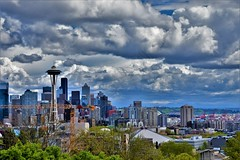 Seattle Skyline (Ad8photography) Tags: seattle spaceneedle pnw nikond7200 50mm skyline sky city landscape view beautiful outdoor picture pic