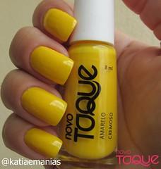 Amarelo (Novo Toque) (katiaemanias) Tags: esmaltenovotoque katiaemanias amarelo esmalte esmaltes unhas unha nails nailpolish nail novotoque cremoso