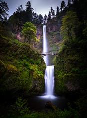 Multnomah Falls (AirHaake) Tags: columbiarivergorge longexposure multnomahfalls pdx portland waterfalls