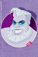 Ursulo Wonkamon Villains (Rokowonkamon) Tags: ursula mermaid villain disney disneycartoon cartoon ilustracion digital art digitalart wonkamon