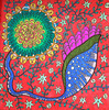 psy flowers 2 (d.em_ver) Tags: drawing illustration flower surreal psychedelic ethnic boho tribal cartoon colorful doodle zentangle zendoodle magic magical