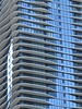 Chicago, Aqua Tower (Architect: Jeanne Gang) (Mary Warren 9.8+ Million Views) Tags: chicago urban blue architecture building condominium highrise condotower windows balconies abstract aquatower jeannegang lines curves