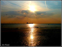 Merseyside beach (exacta2a) Tags: liverpoolmerseyside beaches sunsets contrejoure