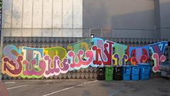 Serenity graffiti, Eine, San Francisco (duncan) Tags: graffiti sanfrancisco serenity eine