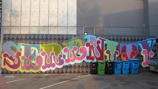 Serenity graffiti, Eine, San Francisco