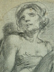 ESPAGNE 17e - Homme assis (drawing, dessin, disegno-Louvre INV18444) - Detail 25 (L'art au présent) Tags: drawings dessins personnage figure figures people personnes art painter peintre details détail détails detalles 17th 17e dessins17e 17thcenturydrawing spanishpaintings peintureespagnole spanishpainters peintresespagnols croquis étude study sketch sketches louvre museum paris france italy espagnol anonyme anonymous man men hommes portrait portraits face boy pose model seated seatedman spain youngman youngmen jeunehomme nakedman nakedmen hommenu numasculin nudemale bare naked nu