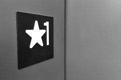 Star One (mfhiatt) Tags: img00250417 star one 1 blackandwhite elevator 365the2017edition 3652017 day111365 21apr17 iphone