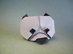 Buste de Pangouin - Eric Vigier (Rui.Roda) Tags: origami papiroflexia papierfalten panda ours oso urso buste de pangouin eric vigier