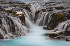 Bruarfoss (Jose Feito - www.atravesdelprisma.com) Tags: viajeislandia iceland hielo azul rio paisaje suavidad