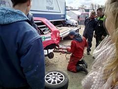 Reparatie (M. Breet) Tags: cross nickey acon autocross