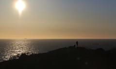 Shipspotters (J. Roseen) Tags: sea hav sunset solnedgång sol sun horizon horisont sky himmel kullaberg skåne eos7dmkii