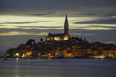 At end of the day..., Rovinj, Croatia (Zoltán Melicher) Tags: rovinj istria croatia sony nex7 sel55210 long exposure europe landscape city cityscape sunset history tradition travel old town adriatic sea mirrorless night architecture building summer art ngc