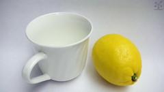 Lemon and Cup (Pentas Creations) Tags: lemon cup art throwback