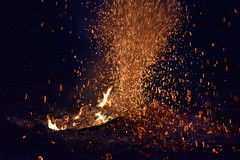 Bonfire (Kate O'Kina) Tags: bonfire explosion burst nature outside bright light