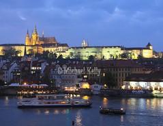 St. Vitus Cathedral  ( Prague Castle ) (Flame1958) Tags: stvituscathedral stvitus saintvitus prague praguecastle 231014 1014 2014 czechrepublic travel traveleurope europe dusk 6528 explore