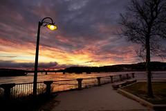 Fin du jour sur le vieux port de Chicoutimi (gaudreaultnormand) Tags: canada canoneos5dmarkiii chicoutimi coucherdesoleil ef1635mmf28liiusm quebec saguenay sunset crépuscule ciel