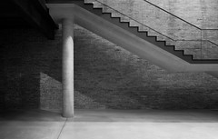 Tadao Ando (alvise.mori) Tags: architecture concrete venice puntadelladogana pinault pinaultfoundation bw blackwhite blackandwhite stairs staircase