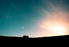 Poco a poco nos fuimos despegando (Ibai Acevedo) Tags: x places sunset sun sol vol vuelo despegue take off plane sky cielo bye despedida goodbye