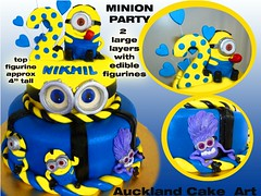 MINION PARTY (Anita (Auckland Cake Art)) Tags: minions 2 birthday wedding christening baptism anniversary pacifica samoa newzealand cake cakes auckland boys girls chocolate 21st baby shower cupcakes