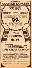 Courier Express Buffalo  December 13, 1937 (tonyolm) Tags: courierexpressbuffalodecember13 courier express buffalo december 1937 vintage news paper advertising snow storm new york