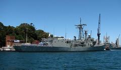 HMAS Darwin, Garden Island, Sydney, NSW. (dunedoo) Tags: navalship ran navy gardenisland sydney nsw newsouthwales australia nikonl820