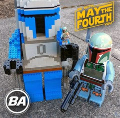 Do or do not. There is no try. (BrickArms) Tags: maythe4th starwars lego brickarms