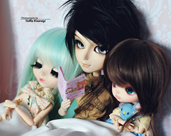 Tale time (·Yuffie Kisaragi·) Tags: doll pullip pere noel icy taeyang garo suzumura rei dal angry custom poison girl booboo obitsu obitsus rewigged rechipped