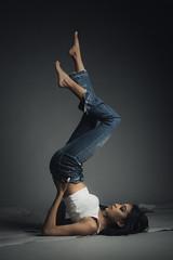 Denim Story (aminefassi) Tags: aminefassi casablanca denim fashion jeans mode sorayagmira morocco login portrait people 2017 studio lookbook maroc 人 картина