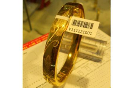 Giấy in tem nhãn cho cửa hàng vàng bạc trang sức