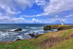 Yaquina Head Lighthouse (markwhitt) Tags: markwhitt markwhittphotography oregon yaquinaheadlighthouse newport usa clouds lighthouse ocean pacificocean pacificnorthwest waves scenic scenery beautiful beauty landscape nature nikon travel raodtrip adventure coast coastal oregoncoast