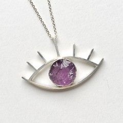 Amethyst Third Eye Pendant