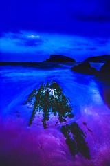 rayo de luna rosa (eolo1947) Tags: arnía cantabria cantabrico liencres uros