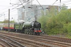 60163 shunts at Darlington (g4vvz) Tags: lner a1 peppercorn tornado 60163 462 pacific east coast mainline ecml darlington london kings cross x steam train br green uk apple locomotive