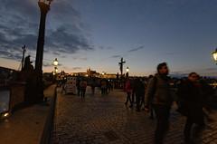 On Charles Bridge (roksoslav) Tags: prague czechrepublic 2017 nikon d7000 sigma1020mm 11mm 120sec f56 iso1250