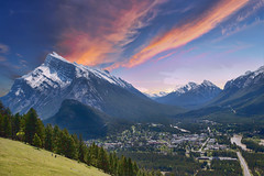 Banff National Park 66 (Largeguy1) Tags: approved banff national park sunset mountains landscape canon 5d mark iii
