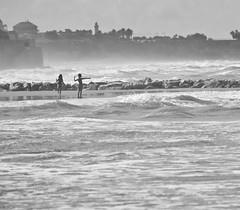 Childhood (gcarmilla) Tags: children play seaside bambini mare bw