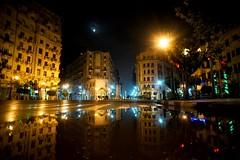 Downtown Midnight. (► Mo'men Saleh) Tags: night rainynight midnight sonya7 sonyimages sonyalpha minolta fullframe cairo egypt downtown